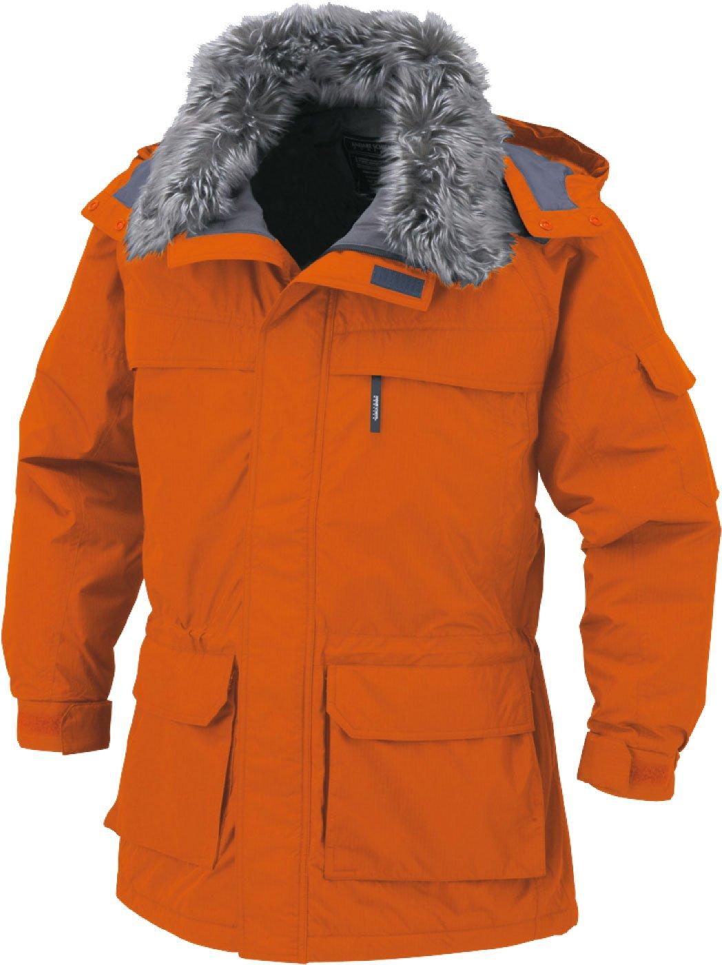 コーコス(CO-COS) 防寒コート 防寒ジャンパー 発熱保温 cc-a11406 B01MAY03SI LL|ウォームオレンジ ウォームオレンジ LL