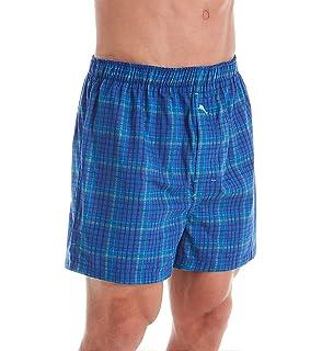 Tommy Bahama Mens Vintage Plaid Knit Boxer Brief