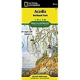 Acadia National Park Waterproof Trail Map, Maine: Jill