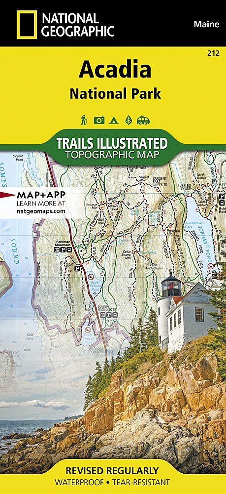 Acadia National Park (National Geographic Trails Illustrated ... on map of white sands national monument, map of white mountain national forest, map of arctic national wildlife refuge, map of cape lookout national seashore, map of chickasaw national recreation area, map of bar harbor, map of cedar breaks national monument, map of deer isle, map of mount rogers national recreation area, map of el yunque national forest, map of oregon dunes national recreation area, map of cumberland island national seashore, map of southwest harbor, map of great sand dunes national park and preserve, map of independence national historical park, map of gulf islands national seashore, map of rockefeller university, map of sonoran desert national monument, map of indiana dunes national lakeshore, map of denali national park and preserve,