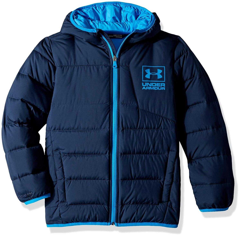 fd2796261d47 Amazon.com  Under Armour Boys  Swarmdown Hooded Jacket  Clothing