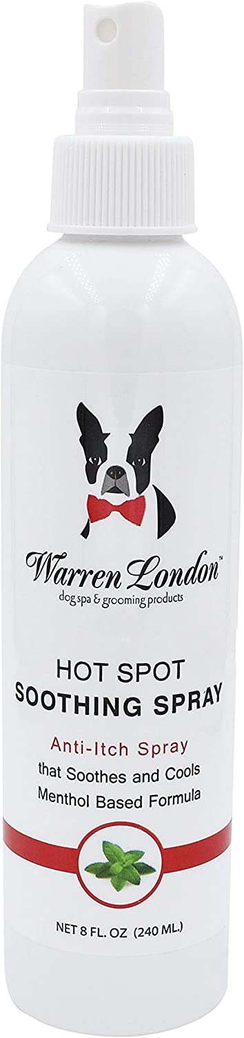 Warren London - Hot Spot Soothing Spray - 8oz - Anti Itch Spray that Soothes and Cools with Menthol Based Formula - Made in USA