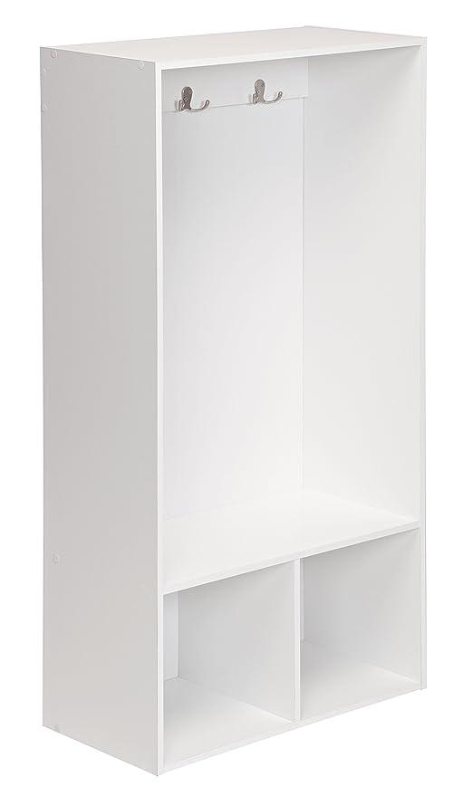 Terrific Closetmaid 1598 Kidspace Open Storage Locker 47 Inch Height White Inzonedesignstudio Interior Chair Design Inzonedesignstudiocom