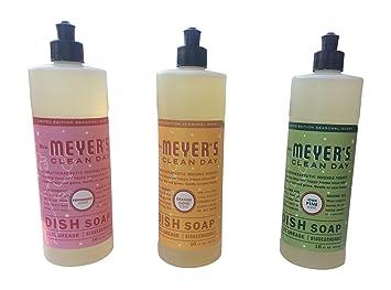 mrs meyeru0027s clean day holiday collection liquid dish soap bundle iowa pine orange