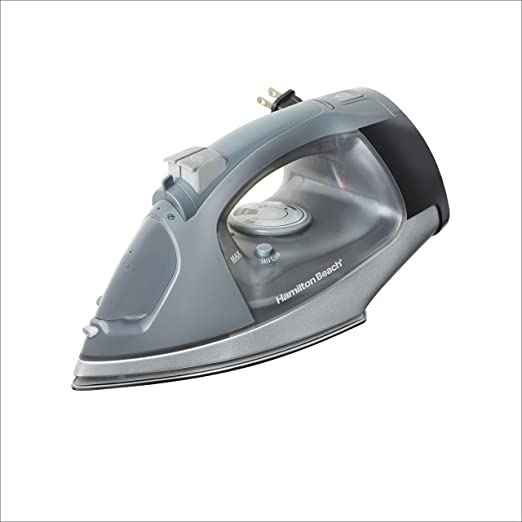 Hamilton Beach Iron with Retractable Cord in Chrome