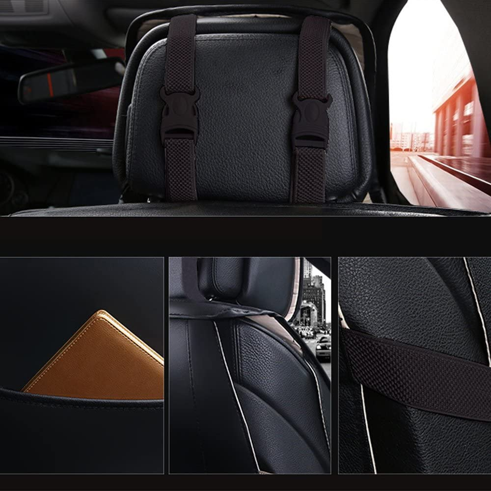 Autositzbezüge Vordersitz Leder Wasserdicht Limousine Suv Pickup Für Cc Fox Golf Jetta Lupo Rapid Hilux Auto