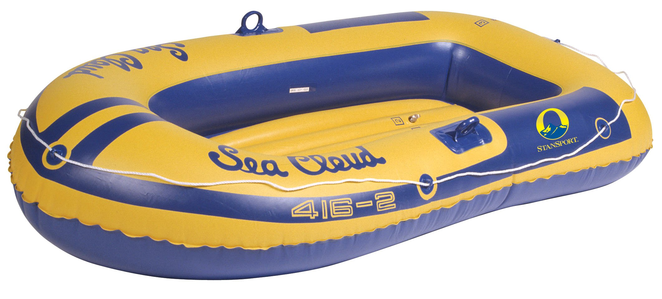 Stansport Sea Cloud Inflatable Vinyl Boat with 2 Seats