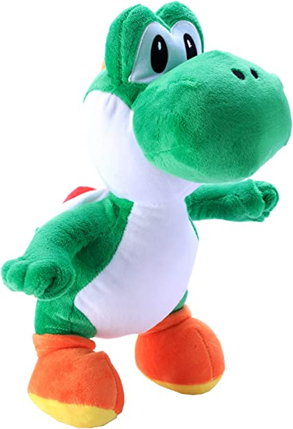 "Super Mario Bros Plush Toy Green Yoshi 7.5/"" Lovely Stuffed Animal Doll Cool"