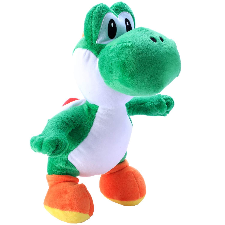 Toyart Yoshi Plush Toy Super Mario Stuffed Collection, 12'', Green by Toyart