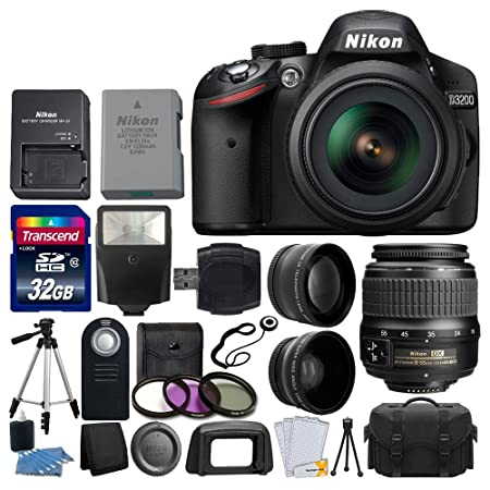The 8 best nikon d3200 dslr camera 2 lens bundle