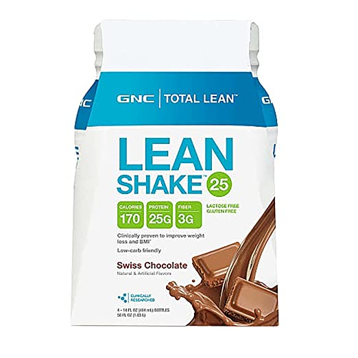 lean shake diet plan, GNC Total Lean Lean Shake - Swiss Chocolate