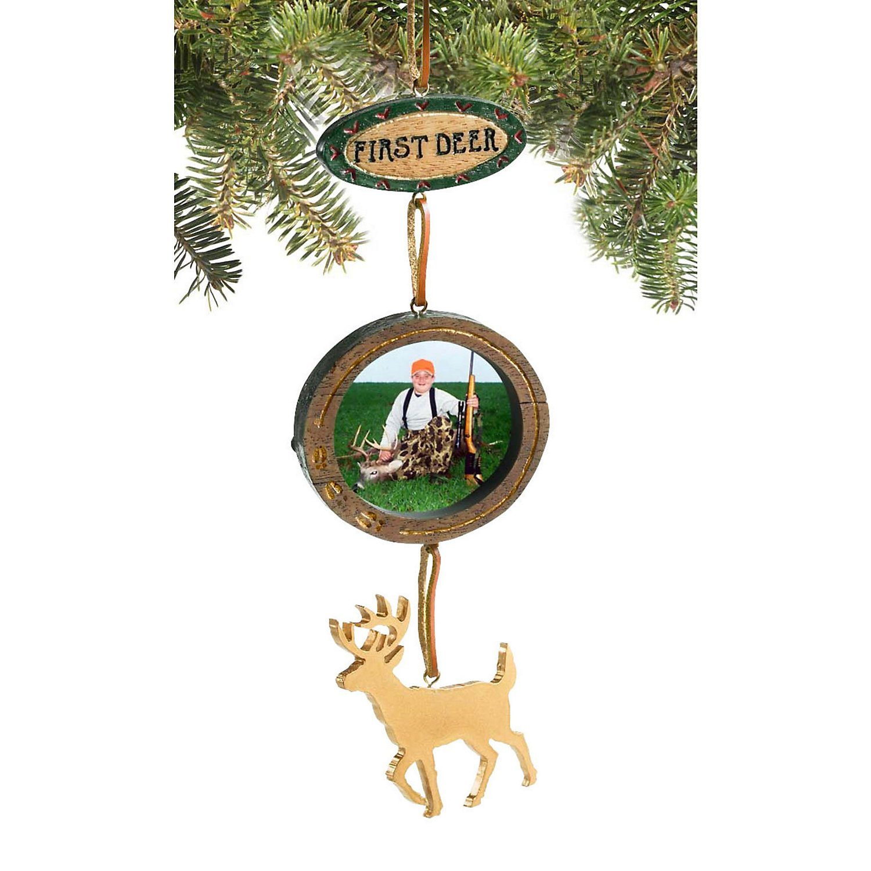 Amazon.com: Legendary Whitetails First Deer Photo Ornament ...