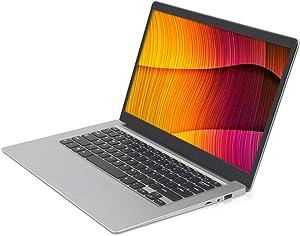 2020 14.1 inch Laptop, IPS Display, Intel 64-bit Dual-core Atom x5 Processor, 6GB RAM, 64GB eMMC ROM, scalable 1TB SSD Solid State Drive, 10000 mAh high Battery Life, Windows 10 Home