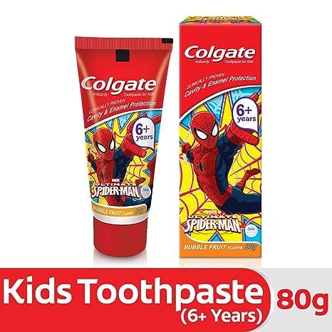 Colgate Anticavity Kids Batman Toothpaste (6+ years), Bubble Fruit flavour � 80g
