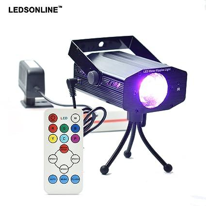 Disco Luz LED proyector, luces de fiesta, luces de luces, luces de ...