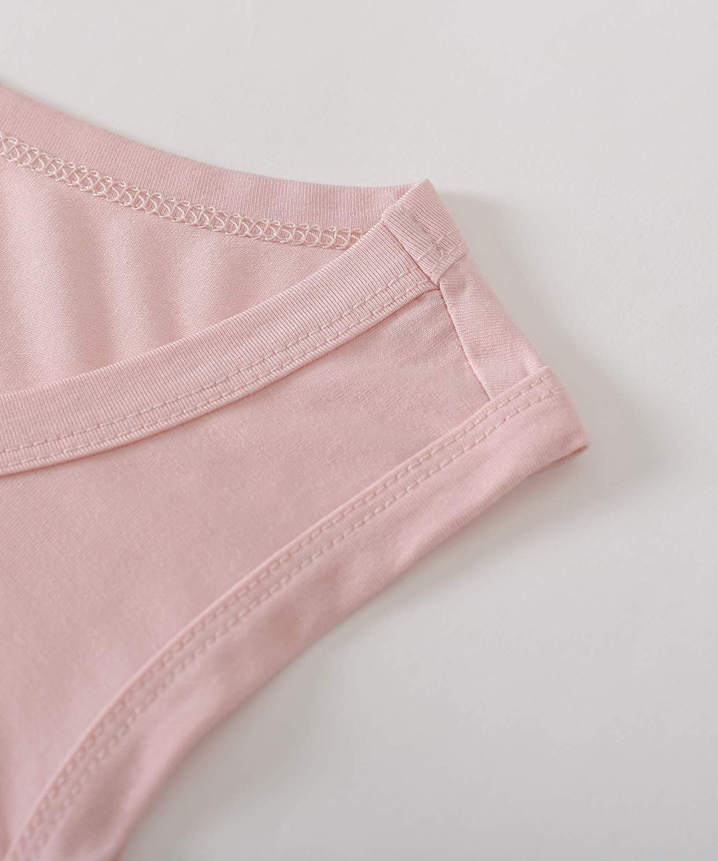 Latuza Womens Bamboo Viscose Sleep Tank Top Sleeveless Pajamas Shirt