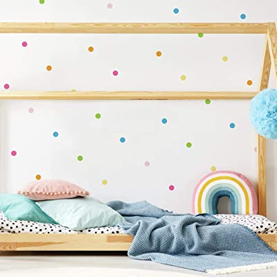 RoomMates Pastel Dot Peel And Stick Wall Decals: Home Improvement