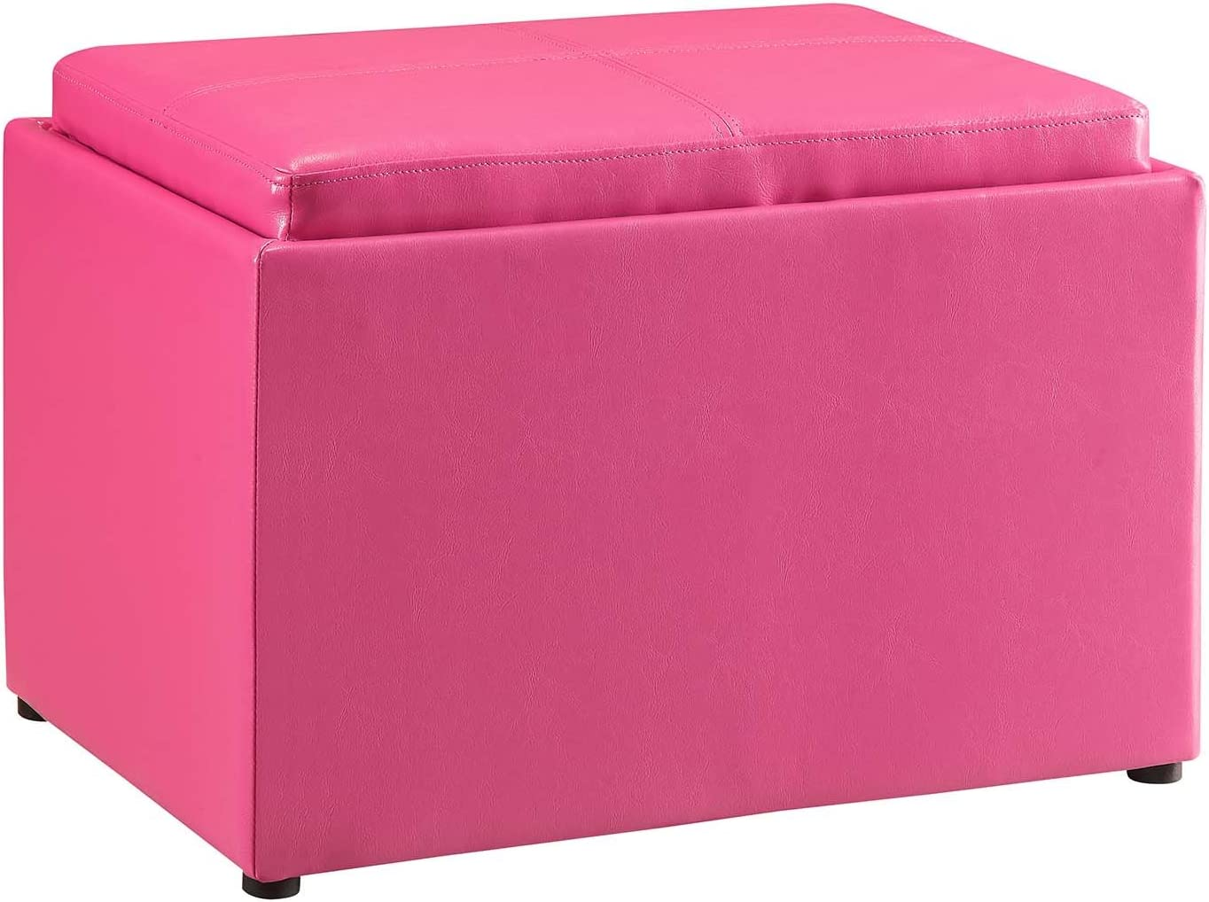 Convenience Concepts Designs4Comfort Modern Accent Storage Ottoman