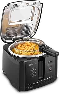 Amazon.com: Flexzion Deep Fryer with Basket – Electric