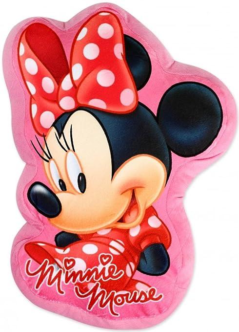 Disney Minnie Mouse - Cojín con forma de personaje (35 cm ...