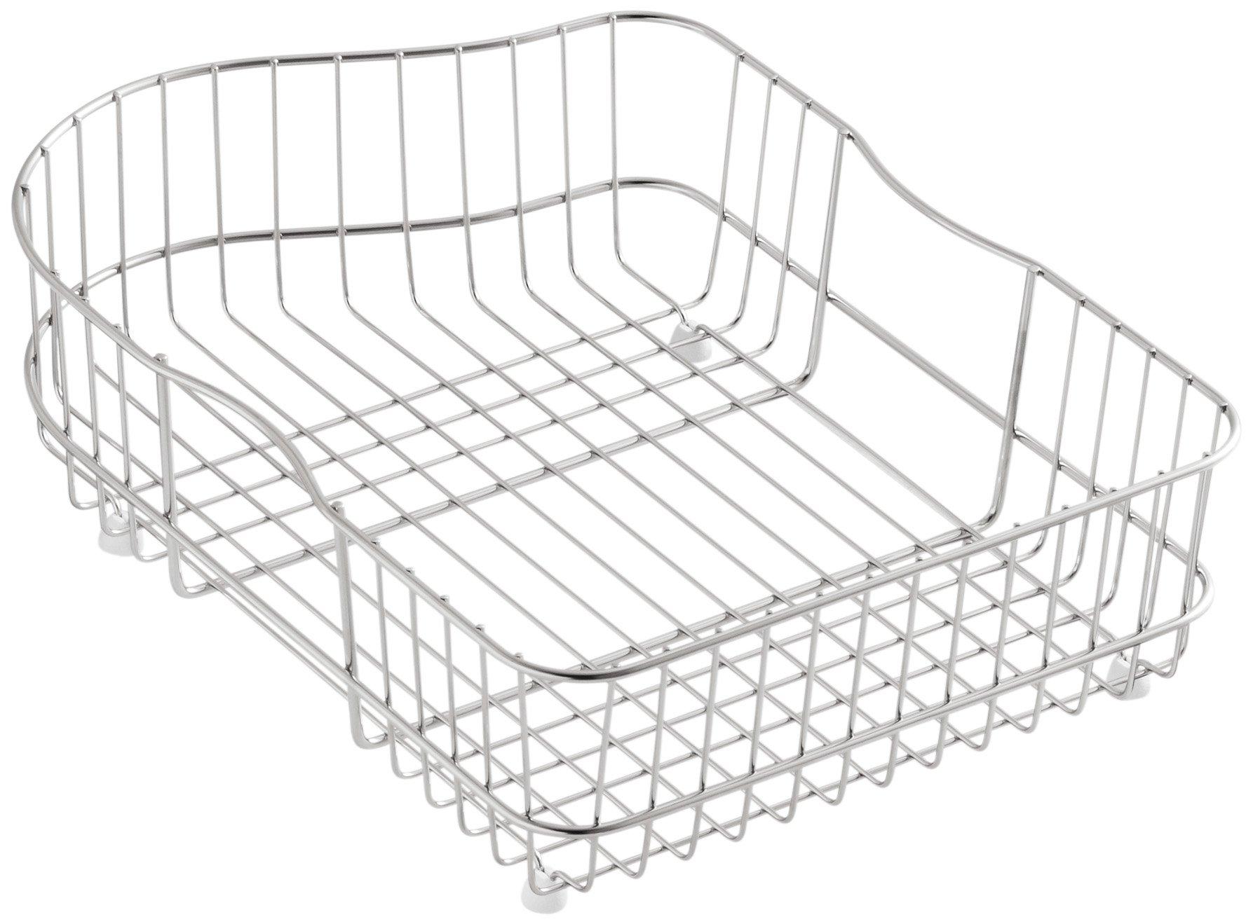 Kohler K-6603L-ST Hartland Wire Rinse Basket, Stainless Steel by Kohler