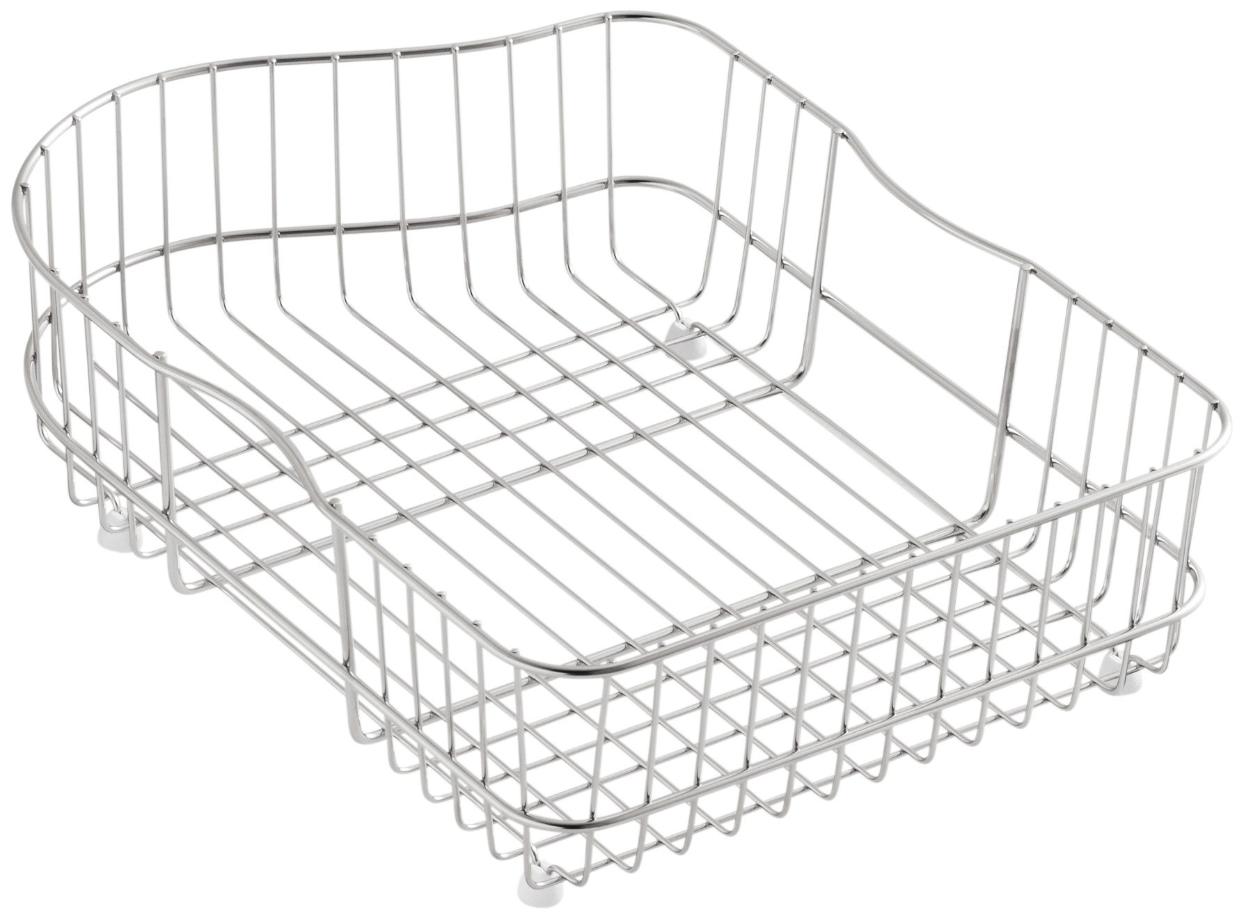 Kohler K-6603L-ST Hartland Wire Rinse Basket, Stainless Steel