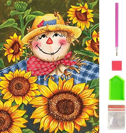 Diamond Dotz Happy Day Sunflower 5D Diamond Painting Embroidery Facet Kit