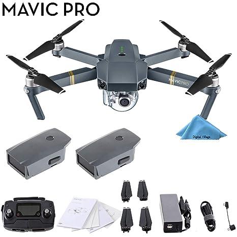 DJI Mavic Pro 4 K Quadcopter Drone 2 Batería Bundle: Amazon.es ...