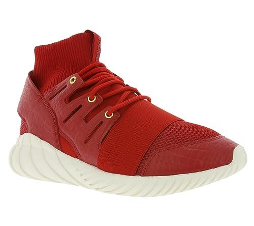 f68b6597041b adidas - Tubular Doom Chinese New Year Shoes - Red - 10  Amazon.co ...