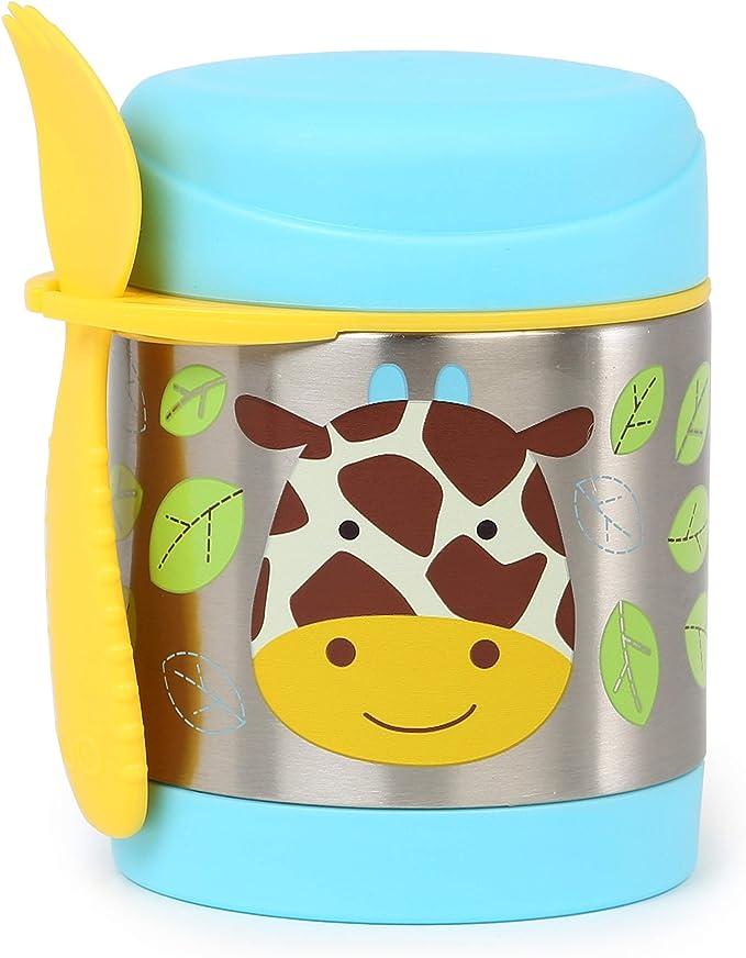 Imagen deSkip Hop Zoo Cow - Tarro aislado del alimento, 325ml, 12m+