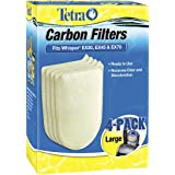 Tetra Carbon Filters Large 4 PK Fits Whisper EX30 EX45 EX70 Cartridge LG Filter
