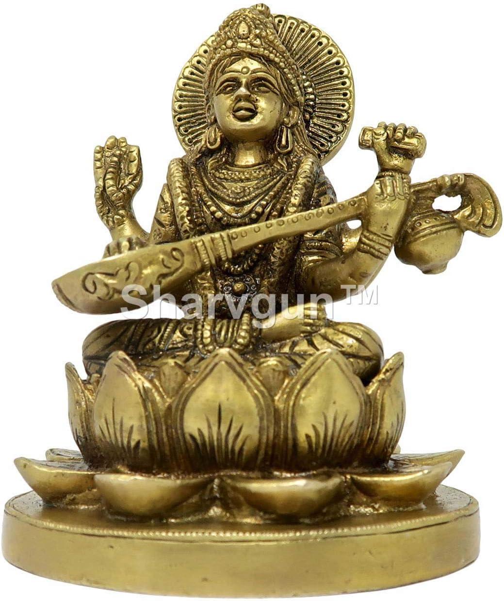 Sharvgun - Estatua de Diosa del Aprendizaje y Conocimiento Mata ...
