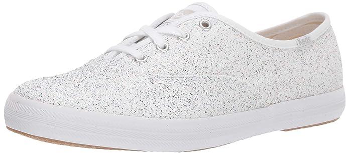 Keds Women's Champion Eyelet Sneaker, White, 5