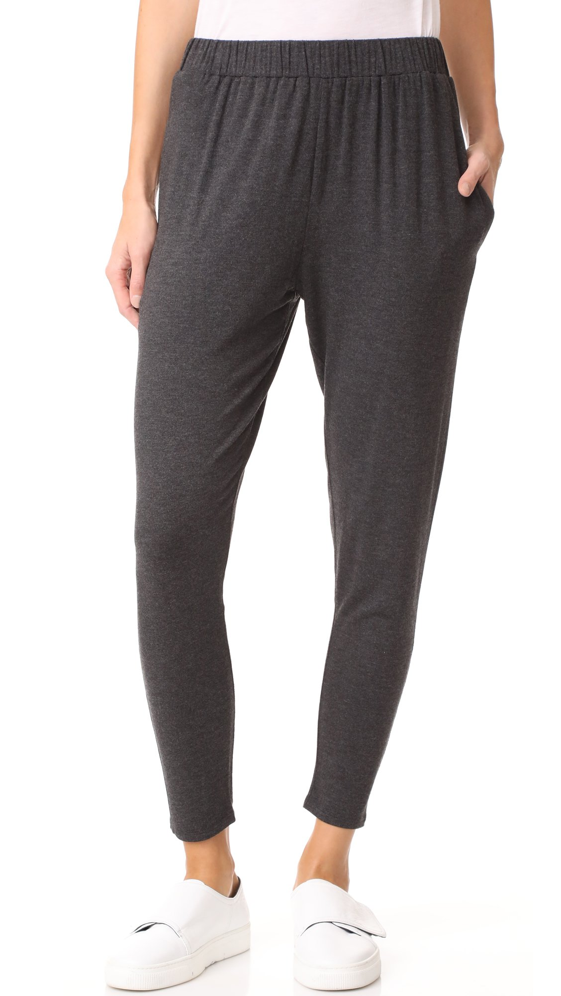 Riller & Fount Women's Theo Tapered Lounge Pants, Stud French Terry, 3