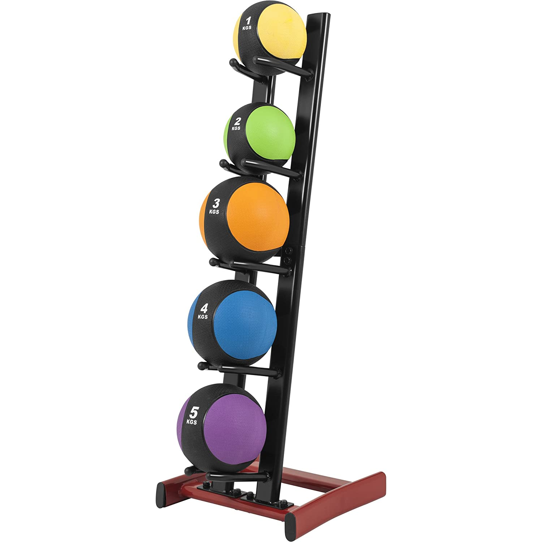 Gorilla Sports Rack de Rangement pour 5 m/édecine Balls