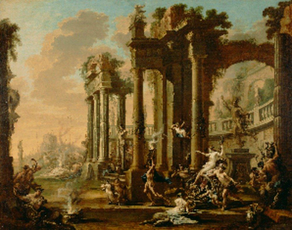 The Triumph of Venus – 傑作クラシック – アーティスト:アレッサンドロマニャスコC。1720s 36 x 54 Giclee Print LANT-69617-36x54 36 x 54 Giclee Print  B01M9EN0E7