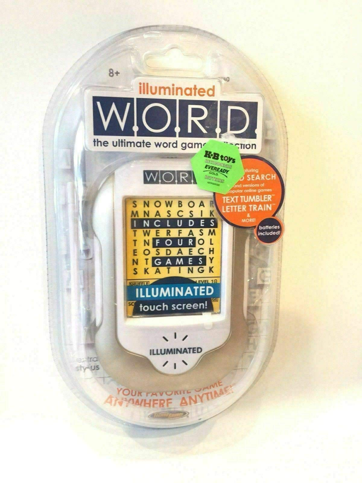 Illuminated Word The Ultimate Word Game Collection Rare Pocket Travel Stylus NEW by Generic (Image #5)
