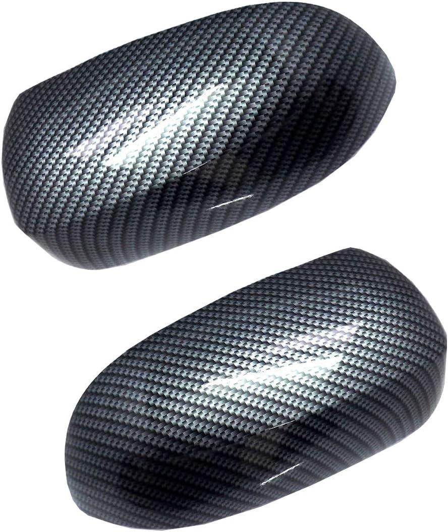 Set Spiegelkappen Carbon-Optik passend f/ür Corsa C
