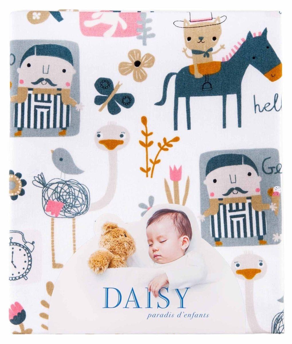 Spannbettlaken mit Gummizug 60 x 120 (-) die Zeit der Trä ume Daisy