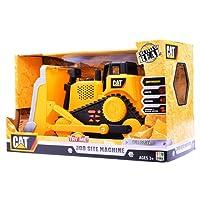 CAT 卡特彼勒 工地机器系列35640 声光音乐电动工程车大号推土机儿童玩具35642 尺寸15.56*38.74*21.59CM