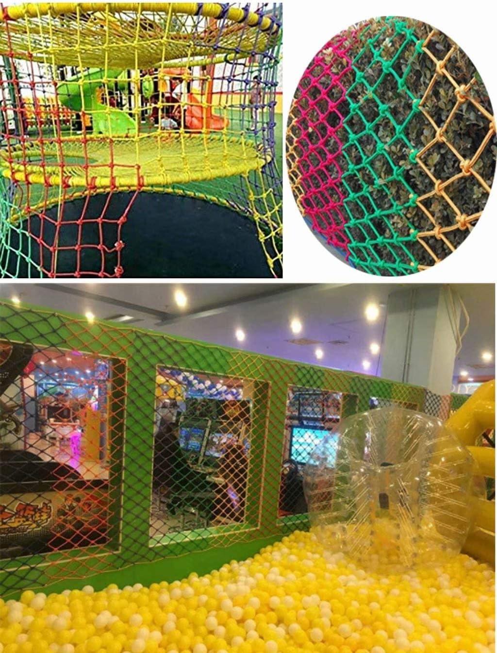 MILASIA Le Filet est Fait de Corde de Chanvre et fournit Une Charge maximale pour l/'Aire de Jeux des Enfants.