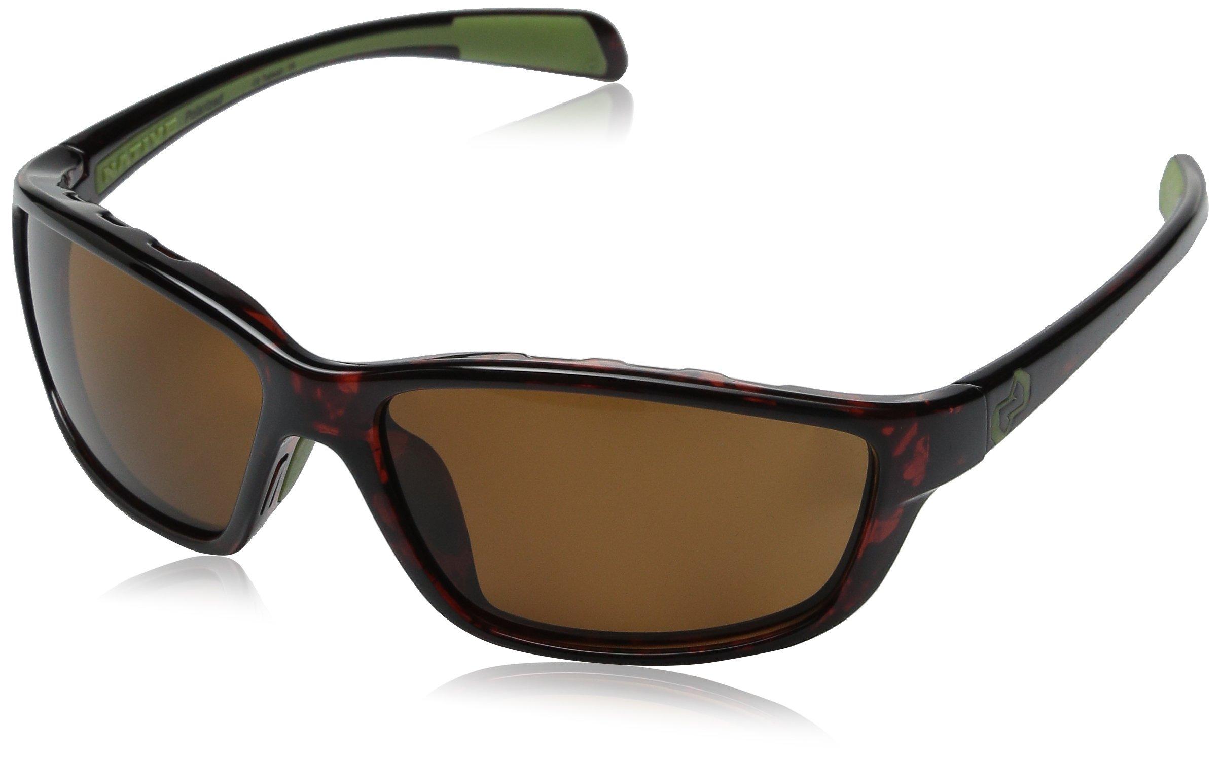 Native Eyewear Kodiak Polarized Sunglasses, Brown, Maple Tort