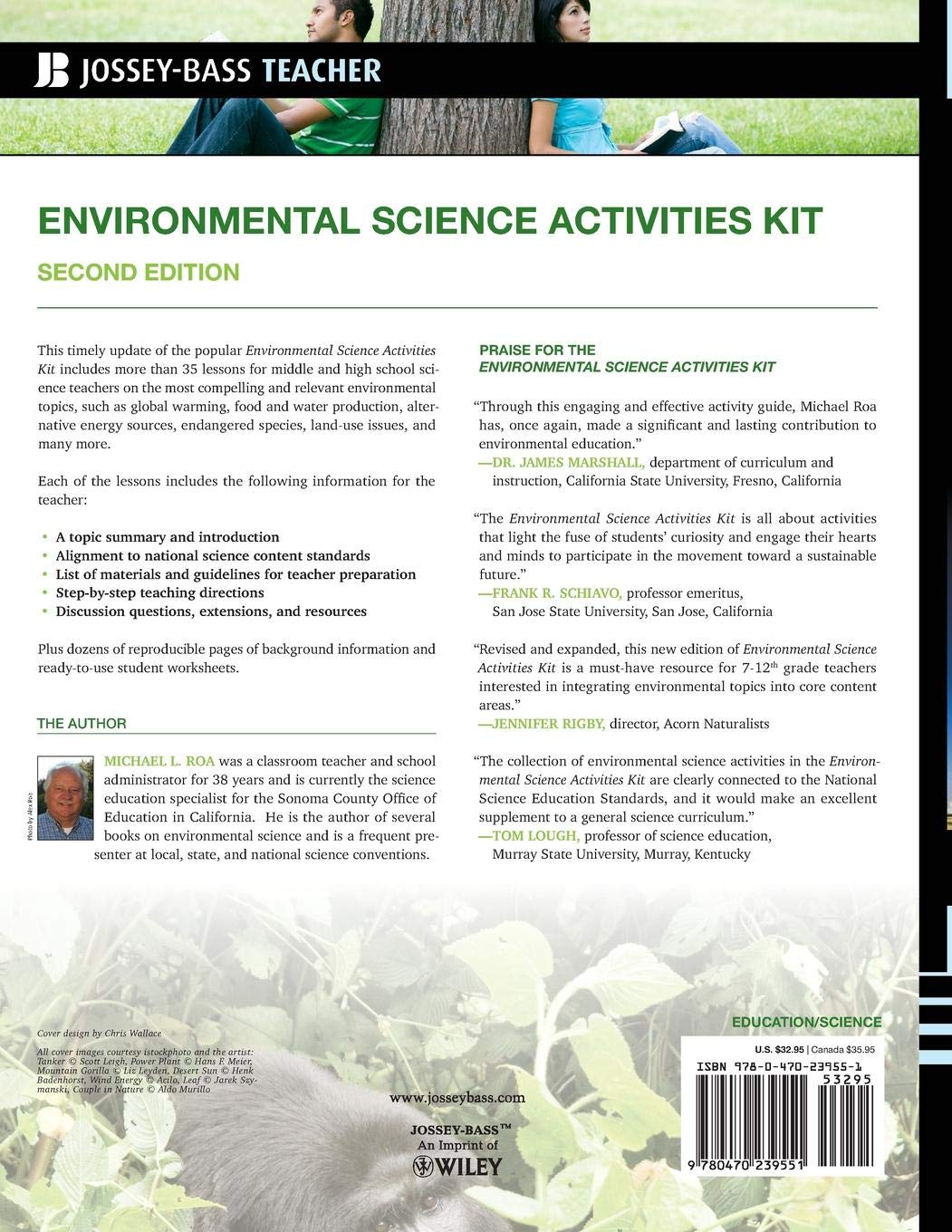 Environmental Science Activities Kit: Ready-to-Use Lessons, Labs