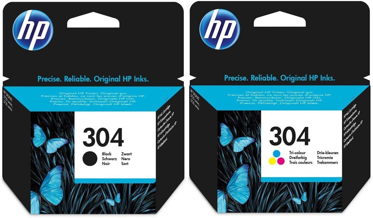 Negro y Tricolor HP Cartucho de Tinta – para impresoras HP Deskjet ...