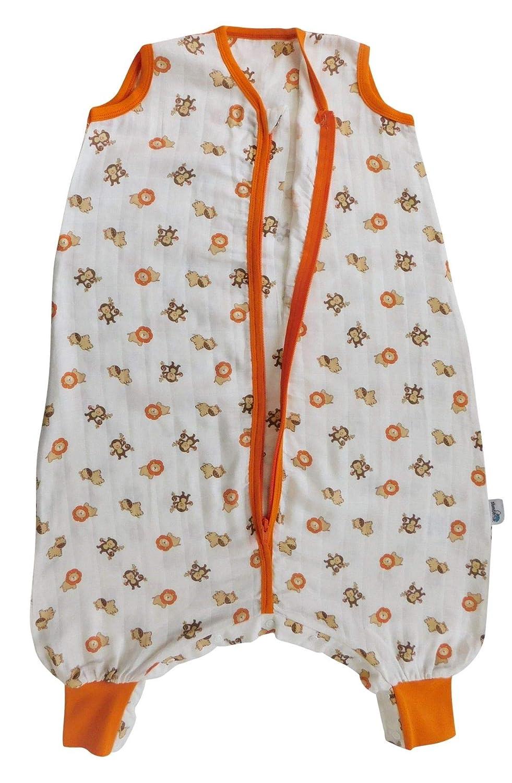 Slumbersac Bamboo Baby Summer Sleeping Bag with Feet approx 1 Tog I Love Teddy 12-18 months