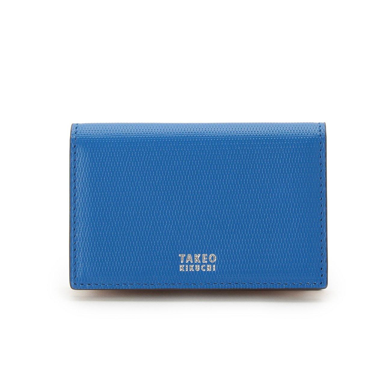 (タケオキクチ) TAKEO KIKUCHI ミニメッシュ名刺カードケース 07001522 B071ZNL4WF ブルー(591) ブルー(591)