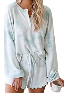 Coolred-Men Oversized Long Sleeve Regular Fit Floral Pajama Sleepwear Set