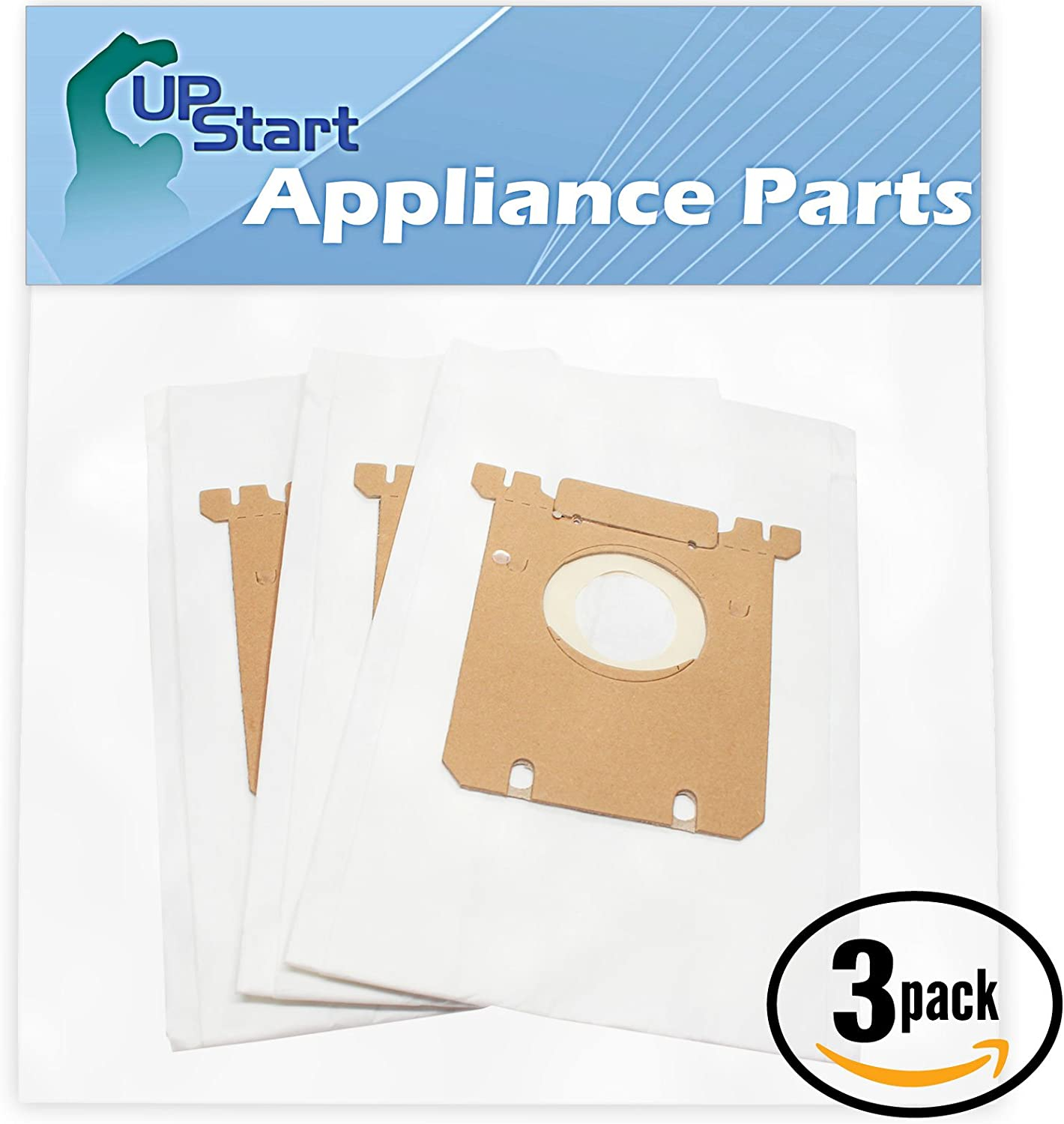 Upstart Battery 9 Replacement for Eureka 920 Series Style S Vacuum Bags - Compatible with Eureka 61230F, OX Vacuum Bags (3-Pack - 3 Vacuum Bags per Pack)
