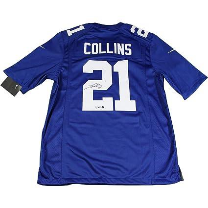 3f1ce4e9808 Landon Collins Signed New York Giants Blue Replica Nike Jersey  (Fanatics/SSM)