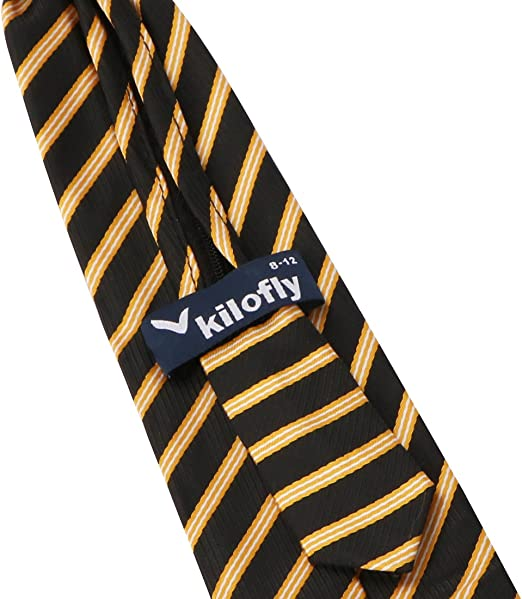 Kilofly – Juego de 5 piezas PRE-TIED ajustable cremallera corbata ...